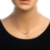 Strieborný náhrdelník 42 cm